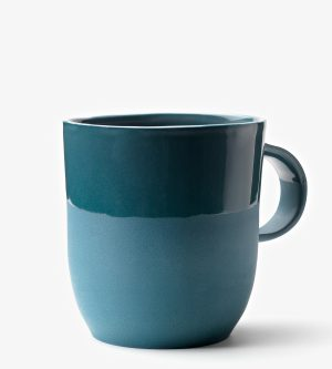 mug bleu essentiel porcelaine céramique